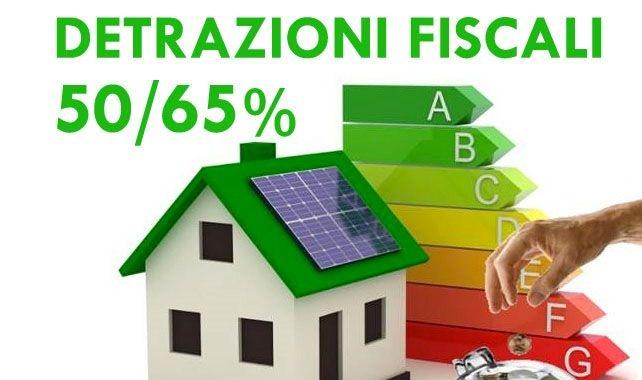 detrazioni fiscali 50% 65%